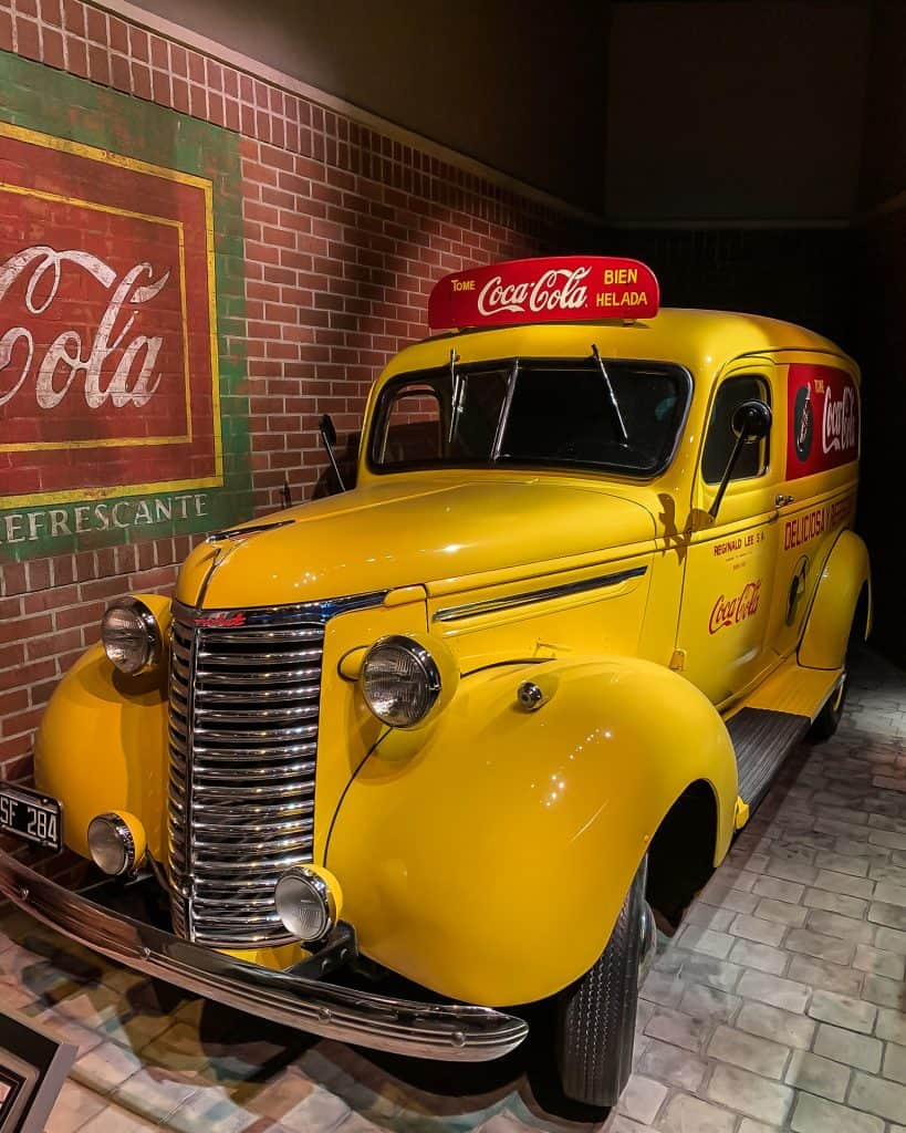 Coke Taxi at the World of Coca-Cola