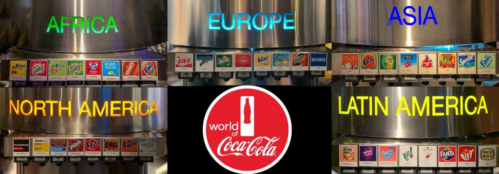 Worldwide Coca-Cola Drinks, World of Coca-Cola