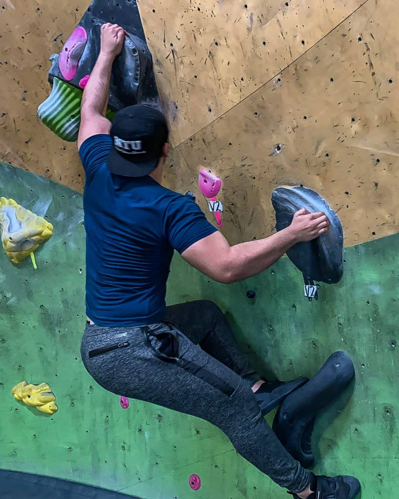Struggling to Get a Hold | Brooklyn Boulders
