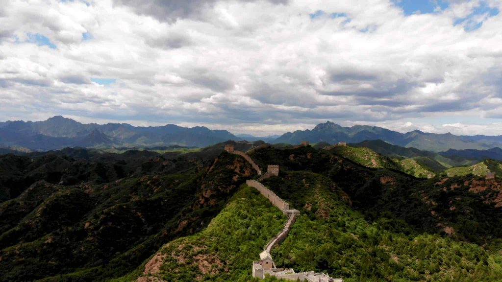 The Great Wall of China Bird's Eye