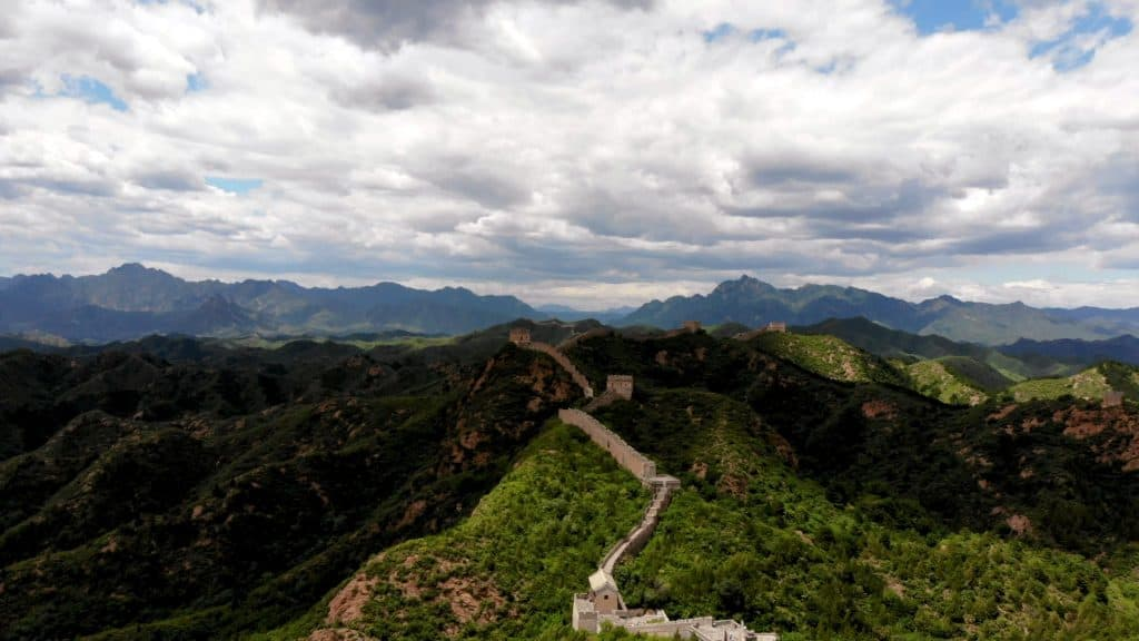 Jumping over Walls | The Great Wall of China