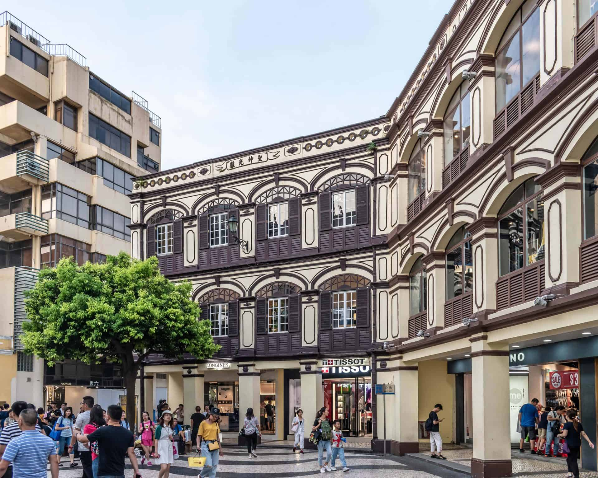 A Look at Senado Square Shops
