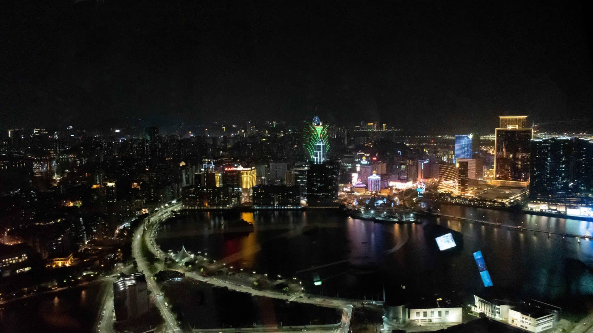 View of Macau Skyline from the Macau Tower