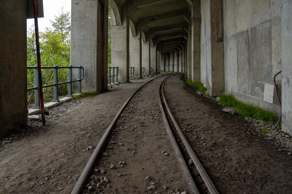 Abandoned Tunnel and Tracks